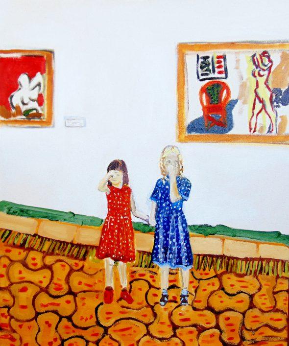 Matisse stinkt niet / olieverf op doek / 50 x 60 cm / 2016