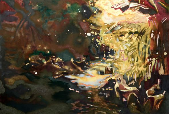 Qua Patet Orbis#3 / olieverf op doek / 80 x 120 cm / 2016